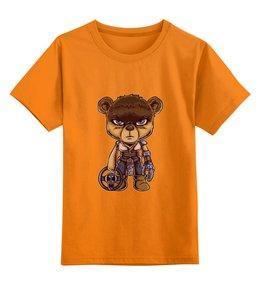 """Детская футболка классическая унисекс """"Безумный Макс ( Mad Max )"""" - мишка, mad max, безумный макс"""