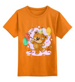 """Детская футболка классическая унисекс """"Мишка Тэдди"""" - медвежонок, игрушка, праздничный, подарочный, мишка тэдди"""