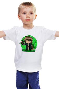 """Детская футболка классическая унисекс """"Minecraft """" - notch, mojang ab"""