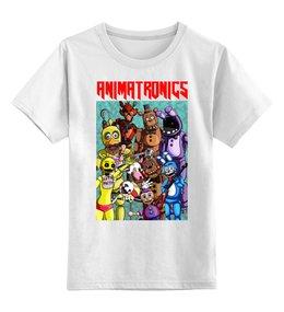 """Детская футболка классическая унисекс """"ANIMATRONICS"""" - триллер"""