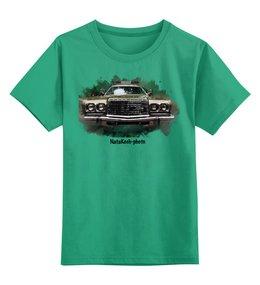 """Детская футболка классическая унисекс """"Шевроле"""" - автомобиль, транспорт, шевроле, фары"""
