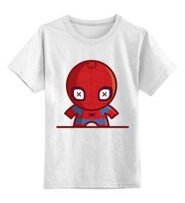 """Детская футболка классическая унисекс """"Человек паук ( spider man )"""" - spider man, человек паук"""