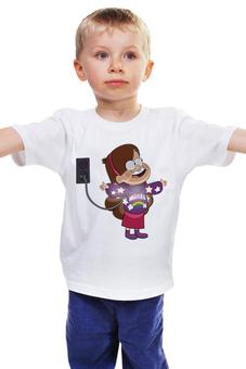 """Детская футболка классическая унисекс """"Gravity Falls"""" - гравити фолз, мэйбл"""