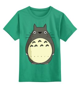 """Детская футболка классическая унисекс """"Тоторо"""" - миядзаки"""