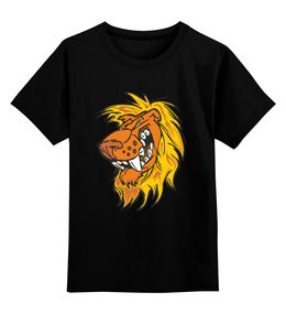 """Детская футболка классическая унисекс """"Зверь"""" - арт, россия, москва, животные, мультфильмы"""