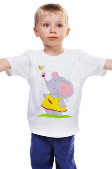 """Детская футболка """"Дружба"""" - милое, конфета, слоненок, сестренке, малышке"""