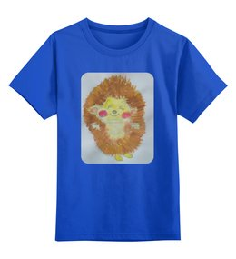 """Детская футболка классическая унисекс """"Ежик в тумане"""" - ежик"""
