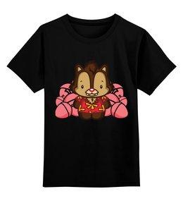 """Детская футболка классическая унисекс """"Чип и Дейл"""" - чип и дейл"""