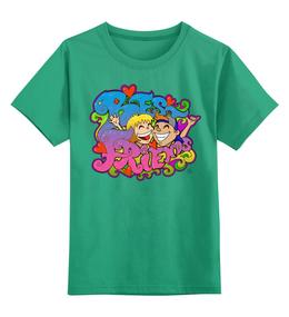 """Детская футболка классическая унисекс """"Лучшие друзья"""" - праздник, друзья, дружба, ярко, веселье"""