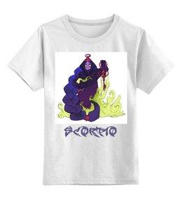"""Детская футболка классическая унисекс """"Знак зодиака Скорпион"""" - знак зодиака скорпион, гороскоп скорпион, символ знака скорпион, ребенок скорпион, малыш скорпион"""