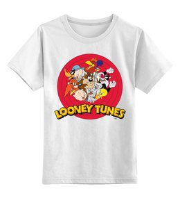 """Детская футболка классическая унисекс """"looney tunes"""" - мульт, looney tunes, луни тюнз, луни тюнс"""