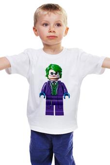 """Детская футболка """"Джокер"""" - comics, комиксы, джокер, dc, злодей"""