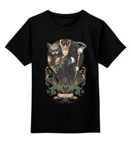 """Детская футболка классическая унисекс """"Армия Локи"""" - локи, мстители, комиксы, тор, loki"""