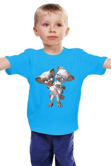 "Детская футболка ""Котята"" - для девочки, мимимишка"