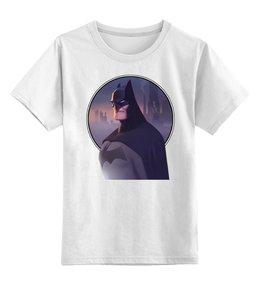 """Детская футболка классическая унисекс """"Batman/Бэтмен"""" - комиксы, batman, бэтмен, dc comics"""