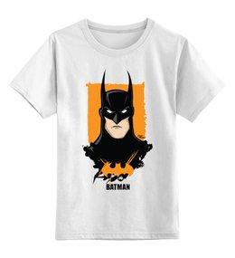 """Детская футболка классическая унисекс """"Batman/Бэтмен"""" - арт, batman, мульт, бэтмен"""