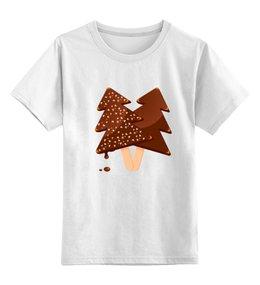 """Детская футболка классическая унисекс """"Мороженое"""" - сладости, тренд, шоколад, вкуснятина, мороженое"""