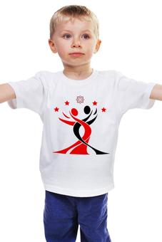 """Детская футболка классическая унисекс """"Lotos Large Logo"""" - lotos, тск лотос"""