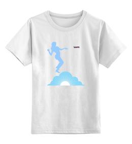 """Детская футболка классическая унисекс """"Интересная и необычная"""" - арт, необычная, клубная, tajlife"""