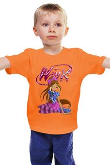 "Детская футболка ""Винкс клуб "" - фея, магия, для девочки, школа волшебниц"