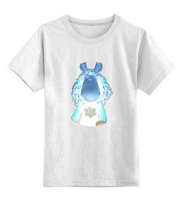 """Детская футболка классическая унисекс """"лошадка"""" - лошадка, loshadka"""