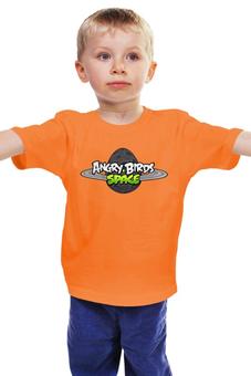 "Детская футболка ""Angry birds "" - ангри бёрдс"