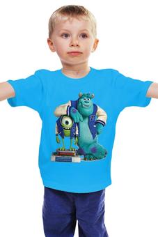 """Детская футболка """"Университет монстров"""" - мульт, университет монстров"""