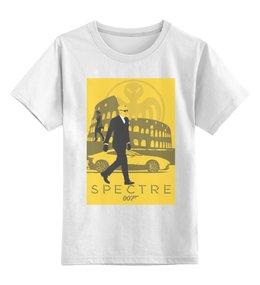"""Детская футболка классическая унисекс """"Bond 007 / Spectre"""" - james bond, джеймс бонд, спектр, agent 007, srectre"""