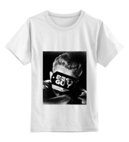 """Детская футболка классическая унисекс """"Джеймс Дин James Dean"""" - стиль, ретро, кино, джеймс дин, james dean"""