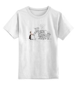 """Детская футболка классическая унисекс """"Эпизод 2 - Кактус"""" - сталкер, тёмная душа"""