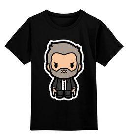 """Детская футболка классическая унисекс """"Росомаха"""" - росомаха, люди икс, wolverine"""