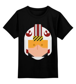 """Детская футболка классическая унисекс """"Звёздные войны (star wars)"""" - star wars, звёздные войны"""