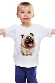 """Детская футболка """"Мэл (Mel)"""" - тайная жизнь домашних животных, the secret life of pets, mel, мэл"""