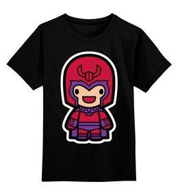 """Детская футболка классическая унисекс """"Магнето"""" - магнето, magneto, x-men, люди х"""