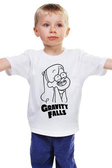 "Детская футболка ""Мэйбл Пайнс"" - мультфильм, gravity falls, гравити фолз, мэйбл пайнс"