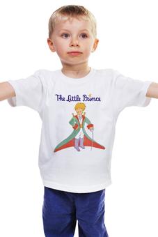 """Детская футболка классическая унисекс """"LITTLE PRINCE """" - маленький принц, little prince"""