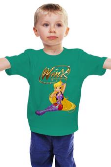 """Детская футболка классическая унисекс """"Winx club """" - фея, магия, для девочки, школа волшебниц, винкс клуб"""