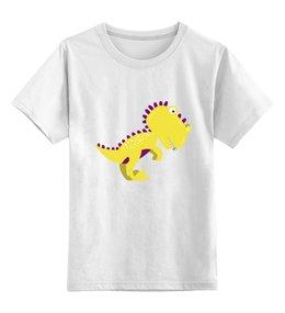 """Детская футболка классическая унисекс """"Динозавр"""" - динозавр, животное, динозаврики"""