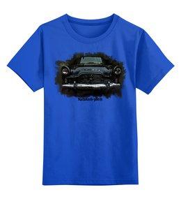 """Детская футболка классическая унисекс """"Автомобиль"""" - машина, автомобиль, зефир, форд, фары"""