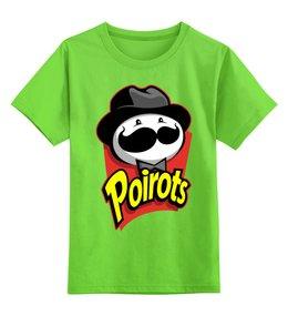 """Детская футболка классическая унисекс """"Pringles"""" - чипсы, принглс, pringles"""
