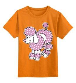 """Детская футболка классическая унисекс """"Собака"""" - новый год, собака"""