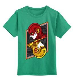 """Детская футболка классическая унисекс """"Флэш."""" - молния, флэш, the flash"""