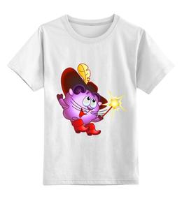 """Детская футболка классическая унисекс """"Футболка из серии """"Смешарики"""""""" - футболка, в подарок"""