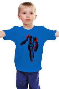 """Детская футболка классическая унисекс """"Робот"""" - трансформер, лего"""