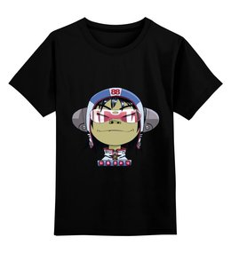 """Детская футболка классическая унисекс """"Gorillaz"""" - gorillaz"""