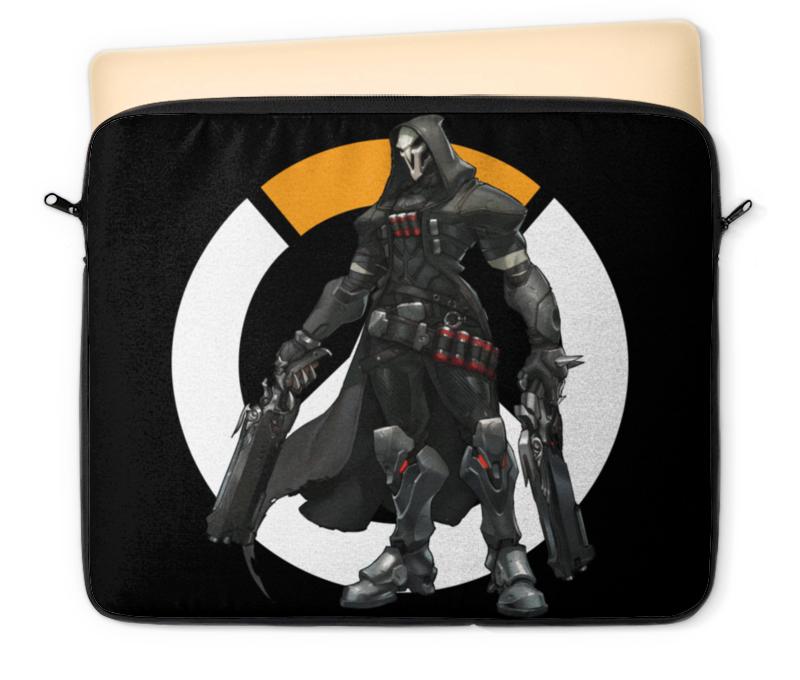 Чехол для ноутбука 12 Printio Overwatch reaper / жнец овервотч