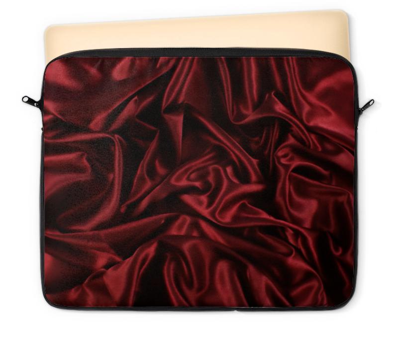 Чехол для ноутбука 12 Printio Красный шёлк redfox чехол для ноутбука v case 11 1200 т красный