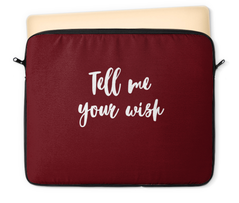 Чехол для ноутбука 12 Printio Tell me your wish тетрадь на скрепке printio tell me your wish