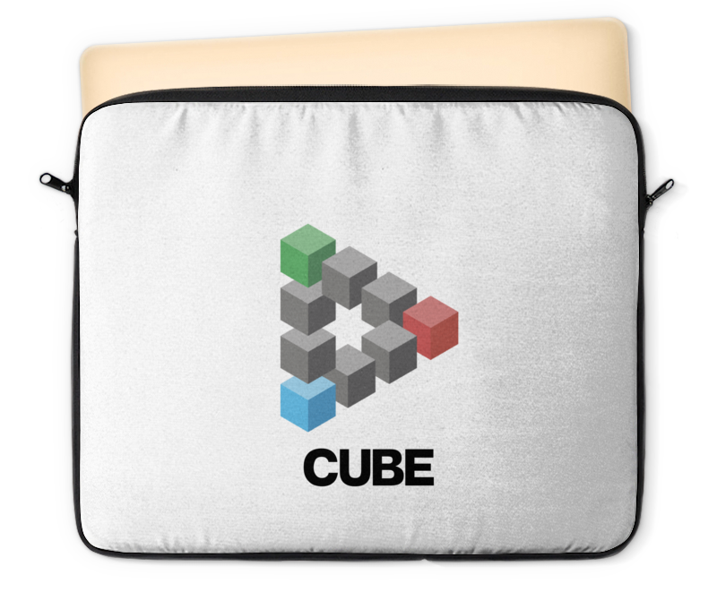 Чехол для ноутбука 12 Printio Symbol cube холст 50x50 printio symbol cube