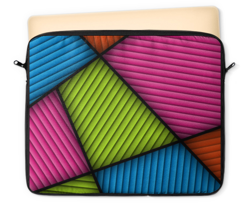 Чехол для ноутбука 12 Printio Цветная абстракция чехол для ноутбука 14 printio волк абстракция
